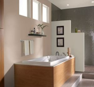 tendances salle de bain 2015 - Separation Baignoire Wc